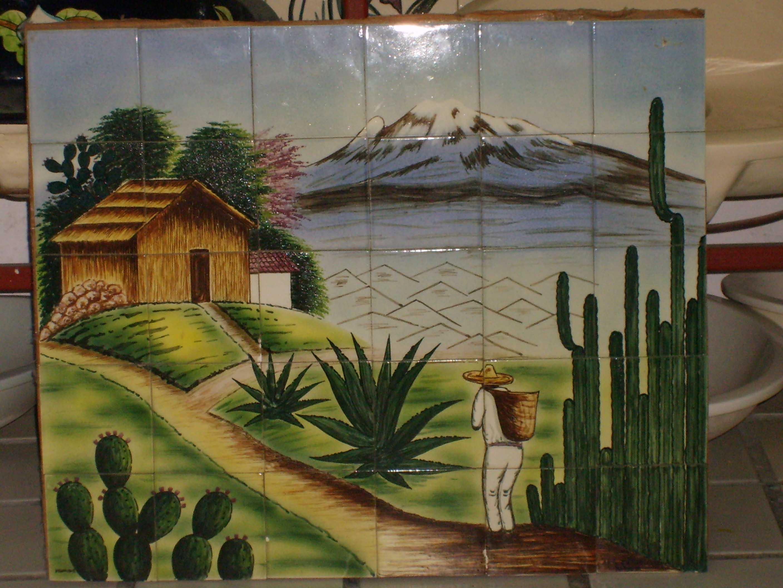 Ceramic1 fabrica de ceramica placas para domicilio for Como dibujar un mural en la pared